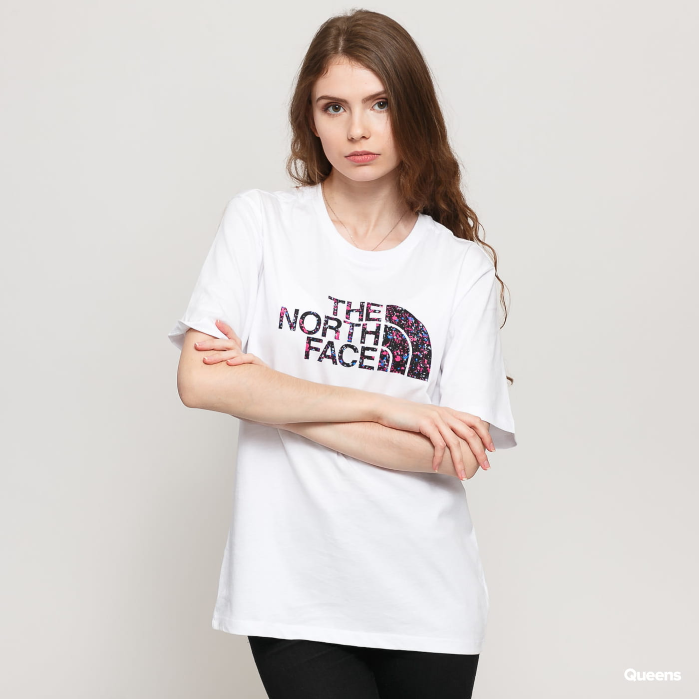 The North Face W BF Easy Tee blue / turquoise