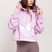 adidas Originals Cropped Hoodie růžová