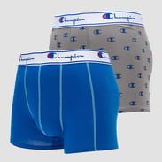 Champion Boxery Mix 2Pack šedá / navy / modré
