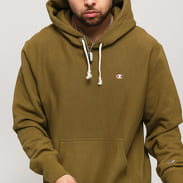 Champion Hooded Sweatshirt olivová