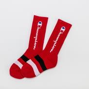 Champion Rochester Crew Sock červené