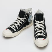 Converse Love Fearlessly Chuck Taylor All Star Hi black / egret / university red