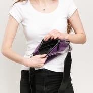 Fila Transparent Cross Body Bag fialová / černá