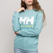 Helly Hansen W HH Logo Crew melange light blue