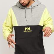 Helly Hansen YU20 Blocked Hoodie melange šedá / tmavě šedá