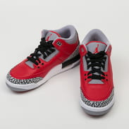Jordan Air Jordan 3 Retro SE (GS) fire red / fire red - cement grey