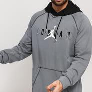 Jordan M J Sport DNA HBR PO Hoodie tmavě šedá / černá