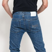 Mass DNM Signature Tapered Fit Jeans blue