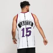Mitchell & Ness NBA Swingman Jersey Toronto Raptors - Vince Carter #15 biely