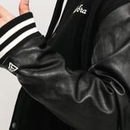 New Era Image Varsity Jacket černá