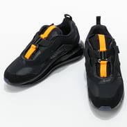 Nike Air Max 720 Slip / OBJ black / black - total orange