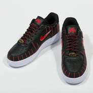 Nike W Air Force 1 Jewel QS black / university red - black