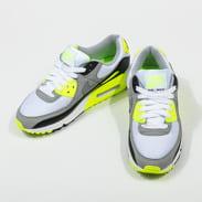 Nike W Air Max 90 white / particle grey - volt - black