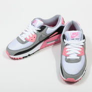 Nike W Air Max 90 white / particle grey - rose - black