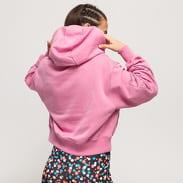 Nike W NSW Air Hoodie Fleece BB dark pink