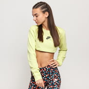 Nike W NSW Air Top Ls Crop light lime