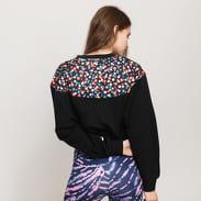 Nike W NSW Heritage Crew Fleece Floral černá / multicolor