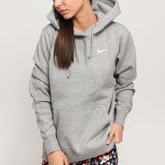 Nike W NSW Hoodie Fleece Trend melange šedá
