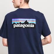 Patagonia M's P6 Logo Responsibili Tee navy