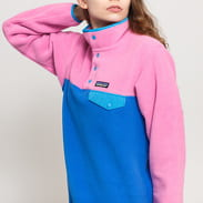 Patagonia W's Lightweight Synchilla Snap-T Fleece Pullover blue / pink