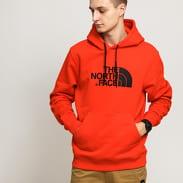 The North Face M Drew Peak PLV Hoody světle červená