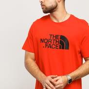 The North Face M SS Easy Tee červené