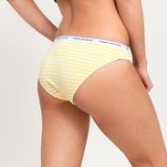 Tommy Hilfiger 3 Pack Bikini - Slip Dot Print žluté / bílé / světle růžové / červené