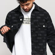 WOOD WOOD Cam Jacket black AOP