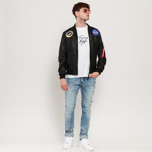 Alpha Industries MA-1 LW NASA Leather