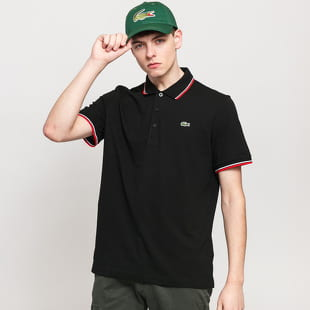 LACOSTE Men's Cuff Rib Edge Polo