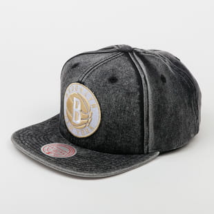 Mitchell & Ness Snow Washed Natural Snapback B