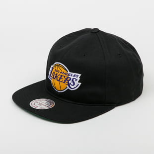 Mitchell & Ness Team Logo Deadstock Throwback Snapback LA Lakers