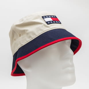 TOMMY JEANS Heritage Bucket Canvas