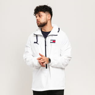 TOMMY JEANS M Contrast Zip Popover Jacket