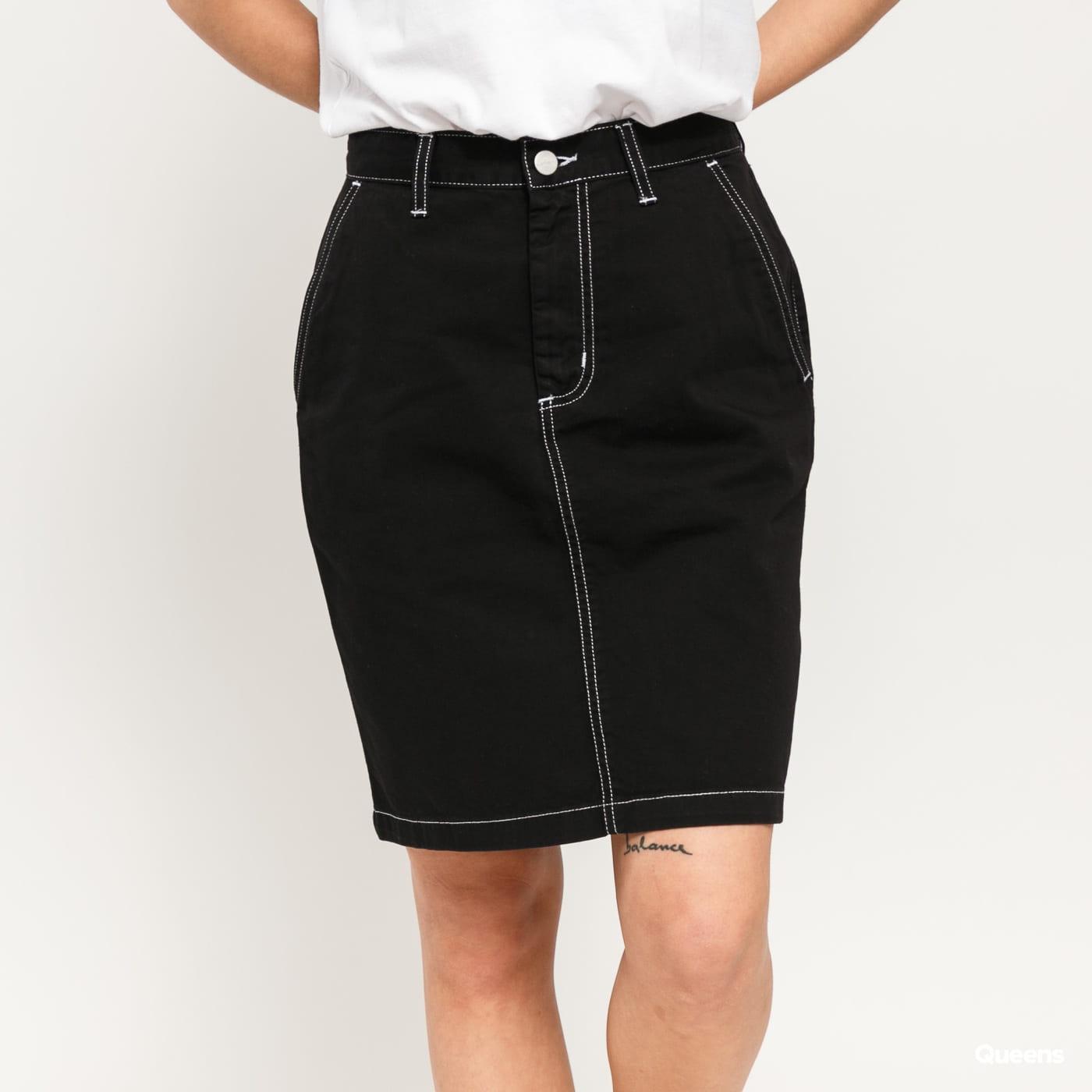 Carhartt WIP W Armanda Skirt černá