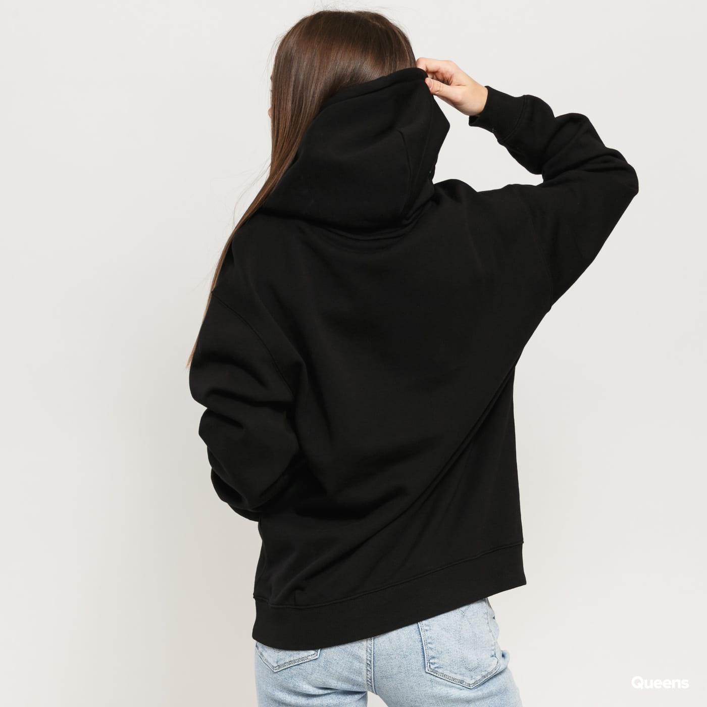 Carhartt WIP W Hooded Carhartt Sweat čierna