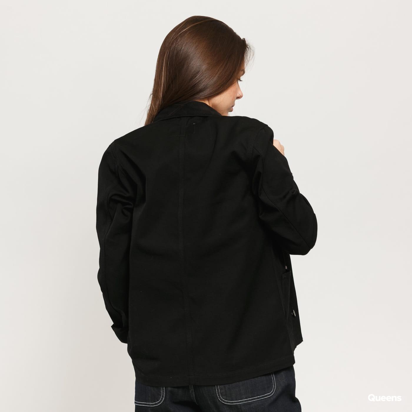 Carhartt WIP W Michigan Jacket black rinsed