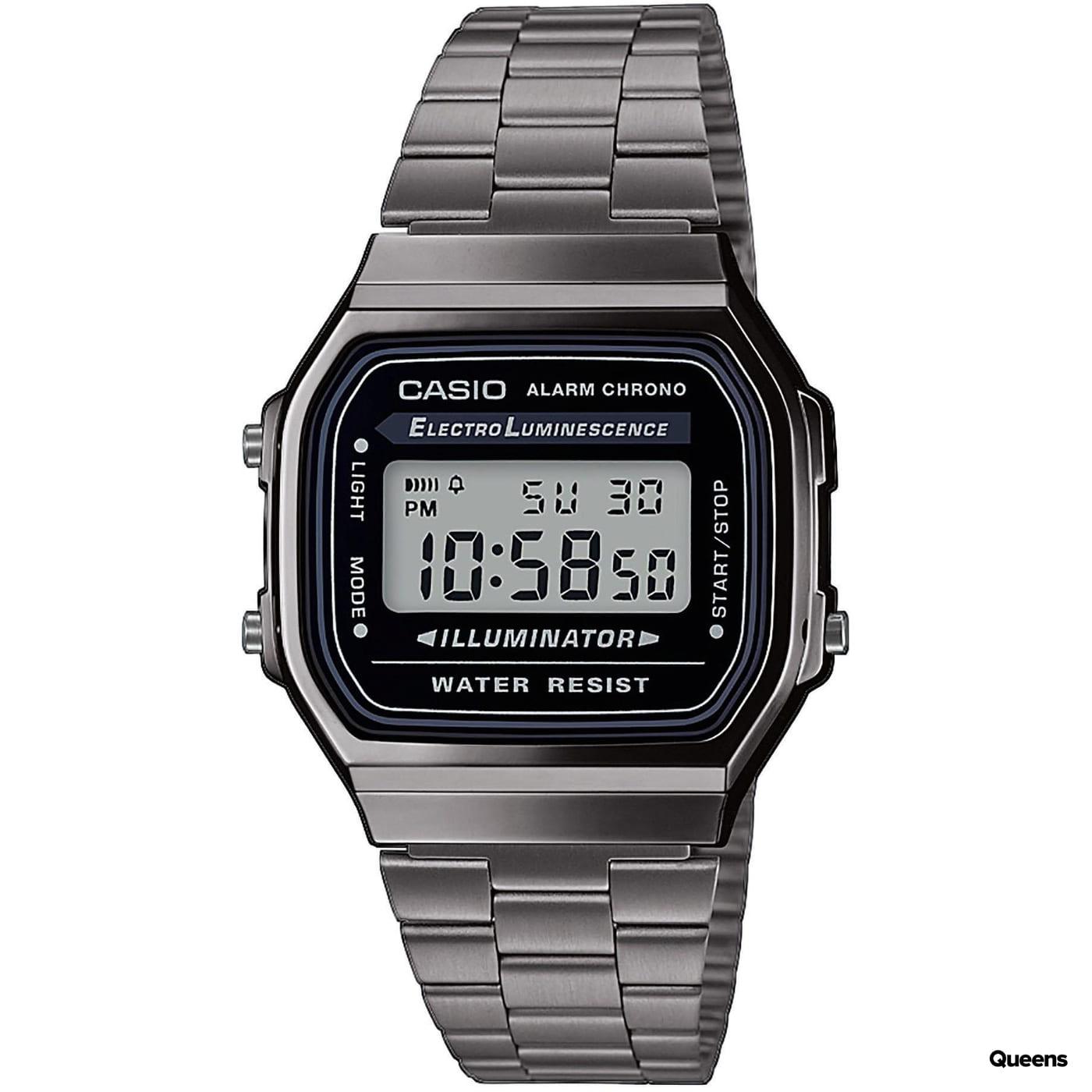 Casio A 168WEGG-1AEF černé / šedé