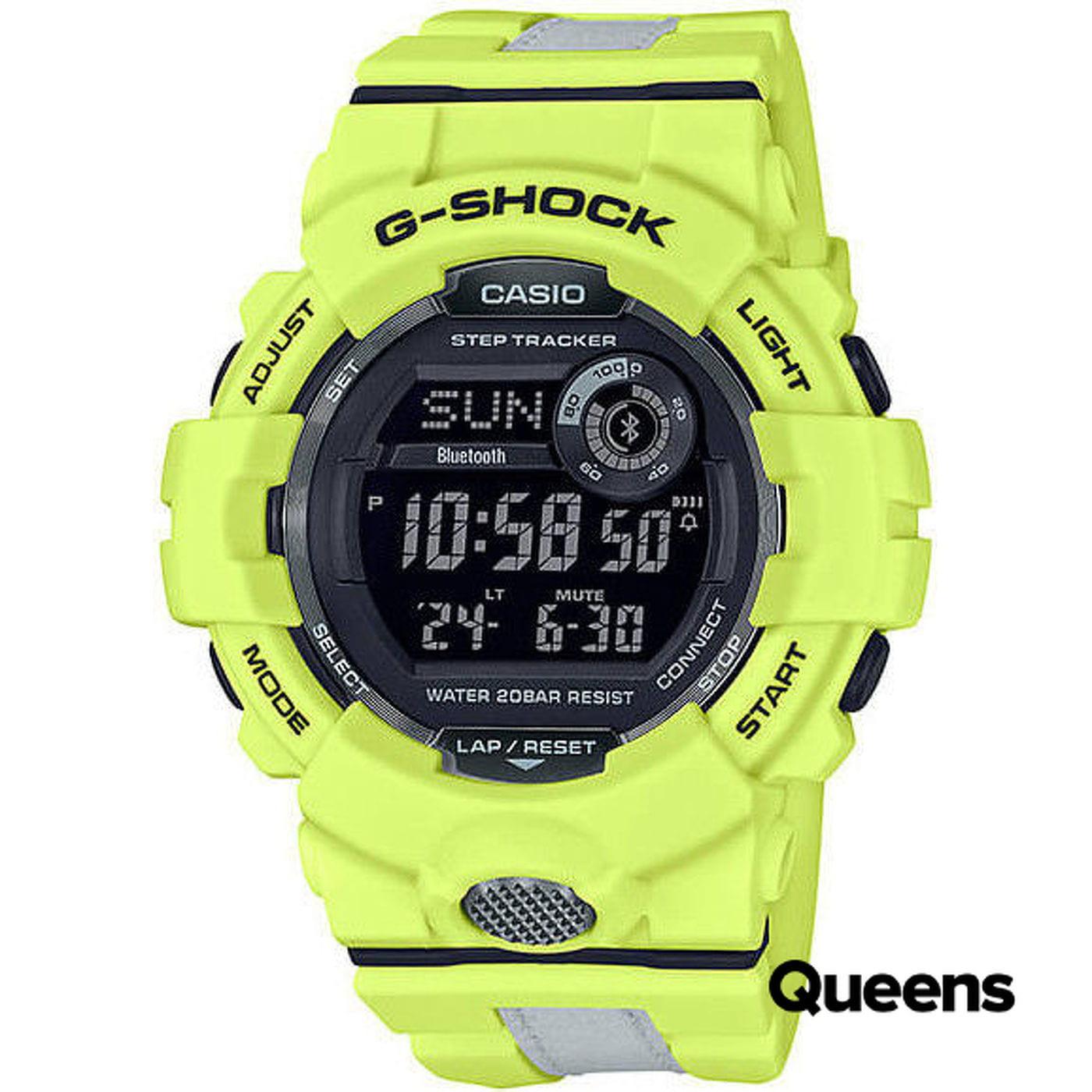 """Casio G-Shock GBD 800LU-9ER """"Reflective"""" neon zelená / reflexní"""
