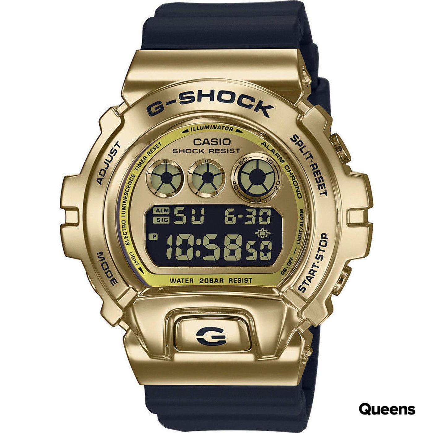 "Casio G-Shock GM 6900G-9ER Metal Covered ""25th Anniversary Edition"" zlaté / čierne"