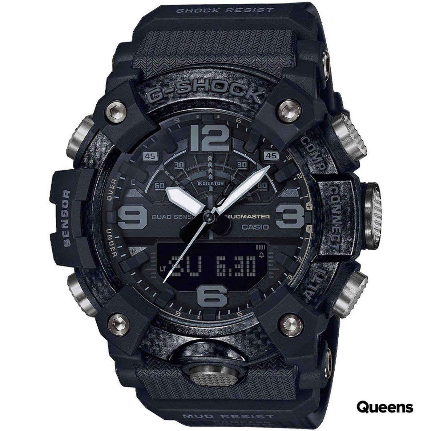"Casio G-Shock GG B100-1BER ""Blackout"" black satin"