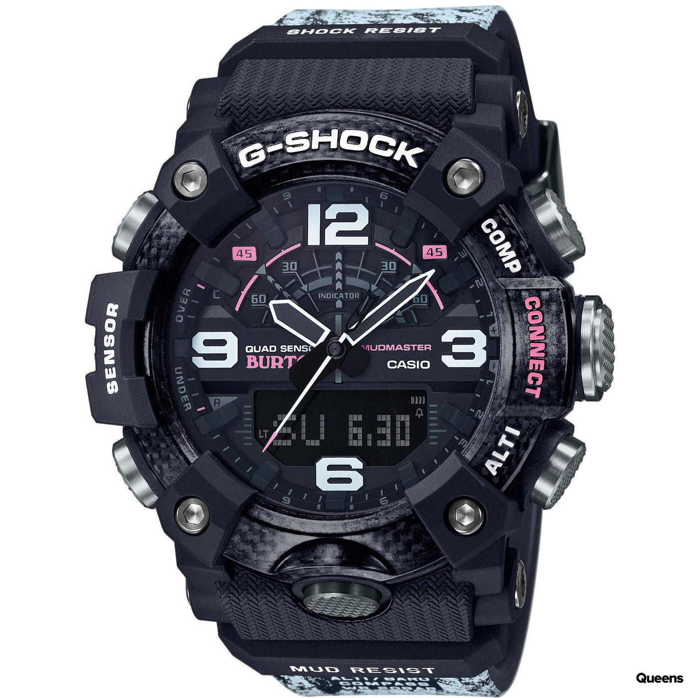 "Casio G-Shock Mudmaster GG B100BTN-1AER ""Burton"" čierne / biele"