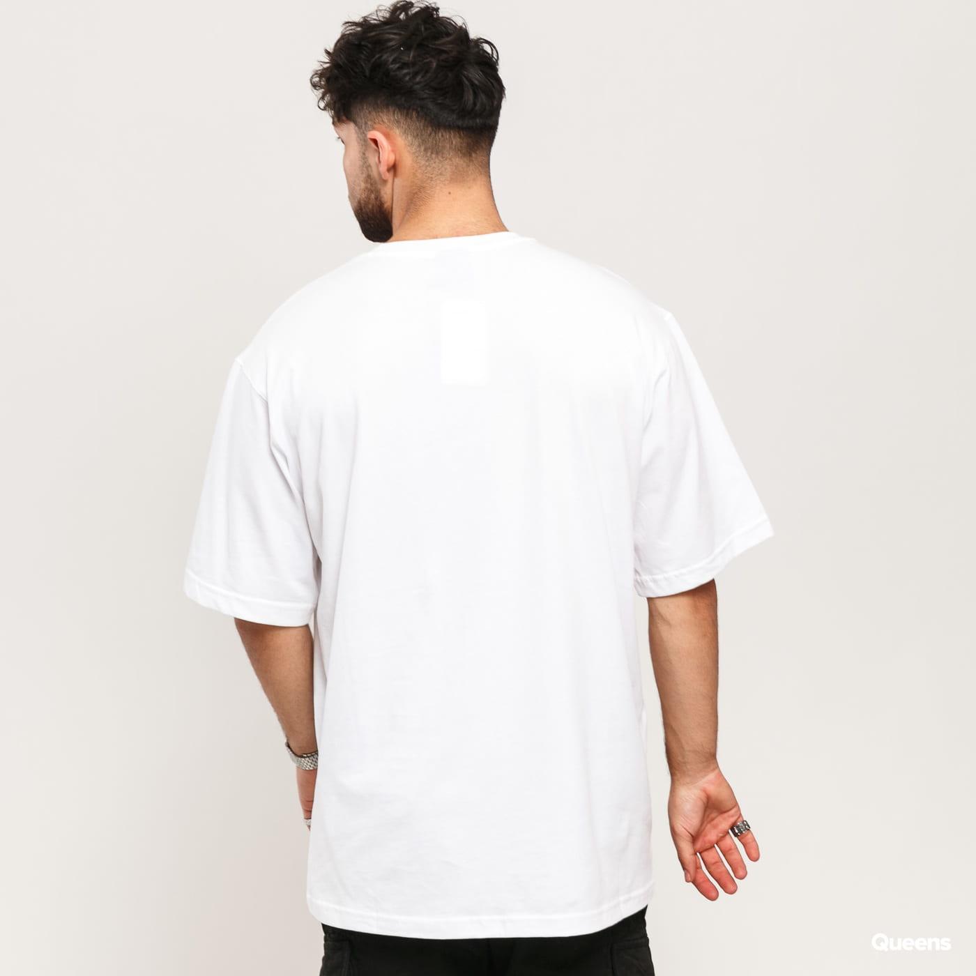 Champion Oversized Script Logo Print T-Shirt biele