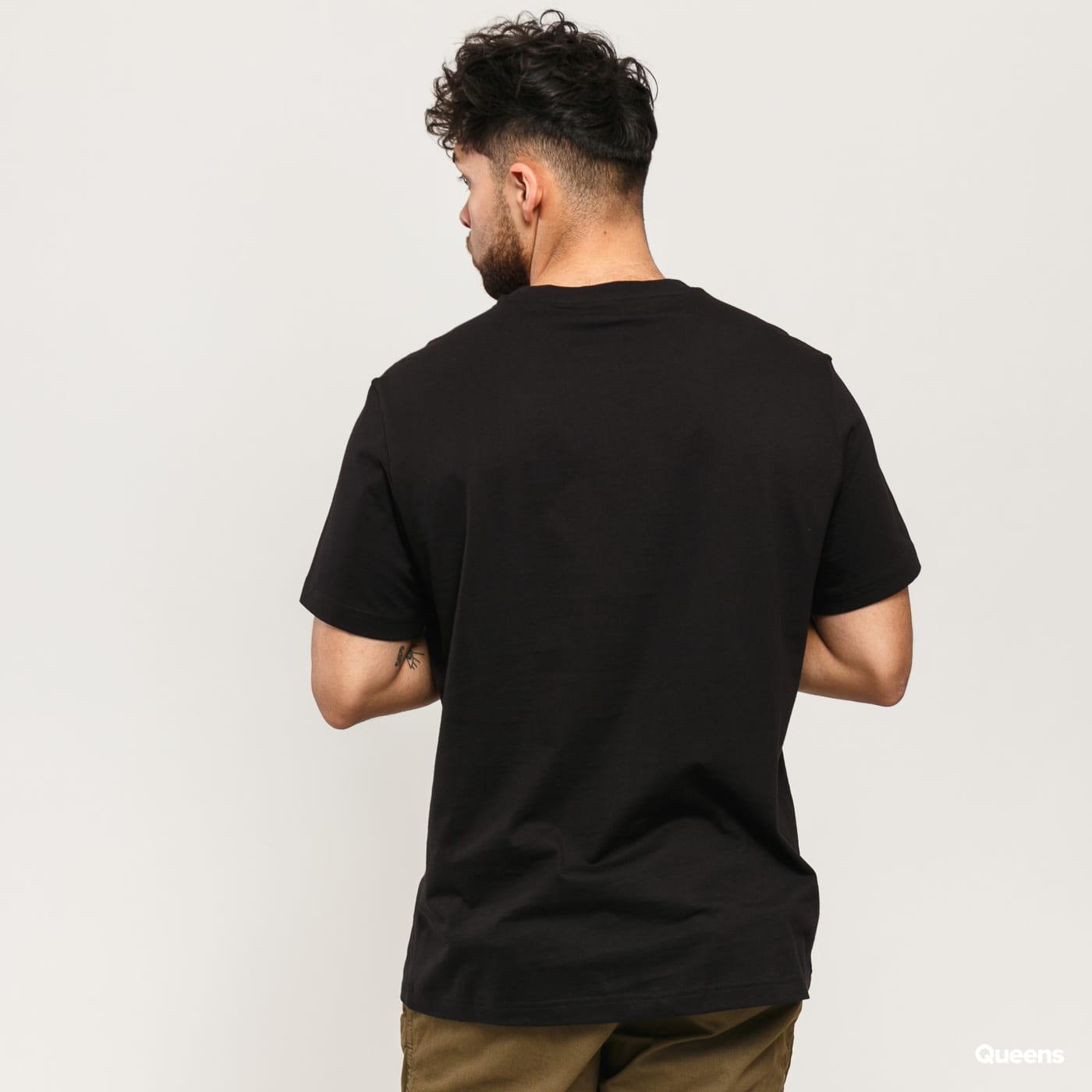 Champion Satin C Logo Crew Neck T-Shirt černé