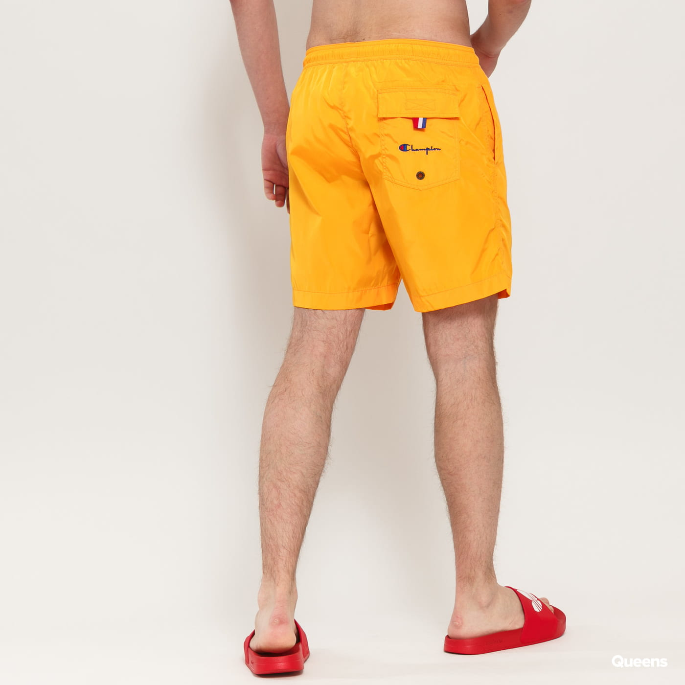 Champion Script Logo Board Shorts orange