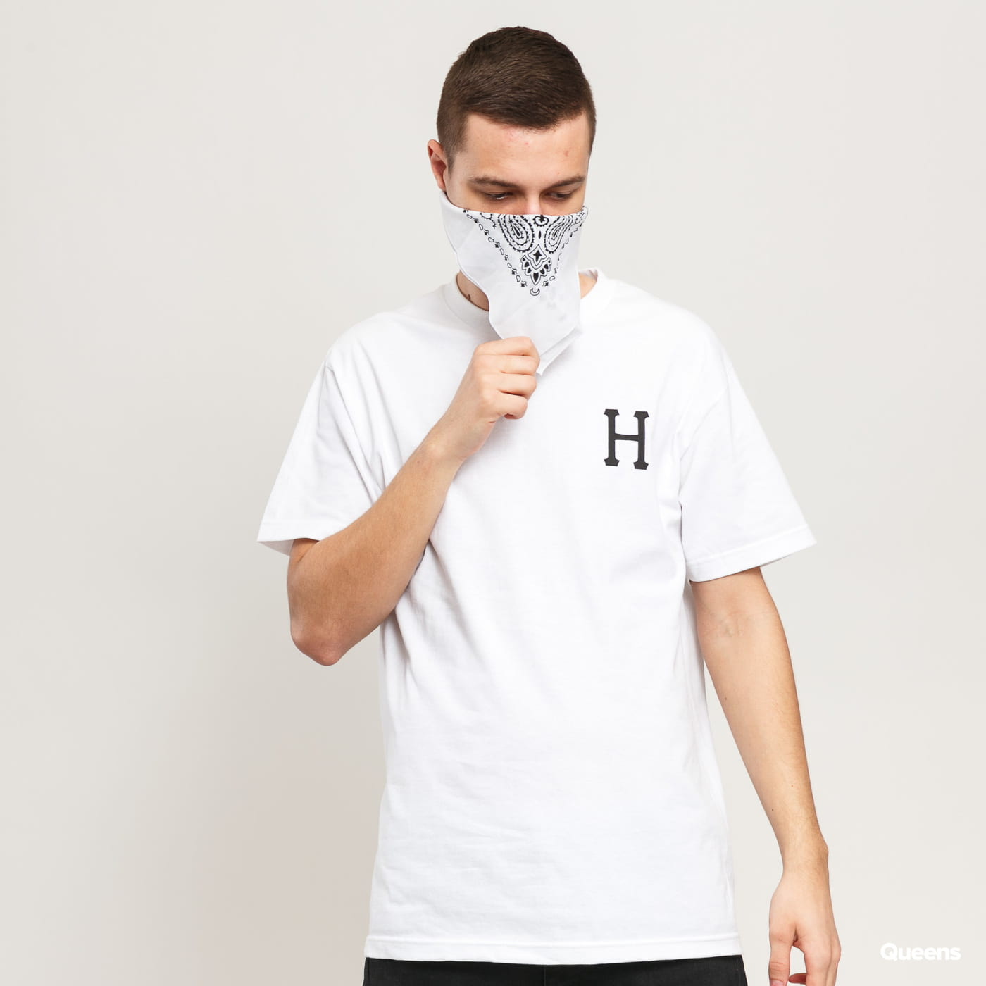 HUF Essentials Classic H Tee blue / turquoise