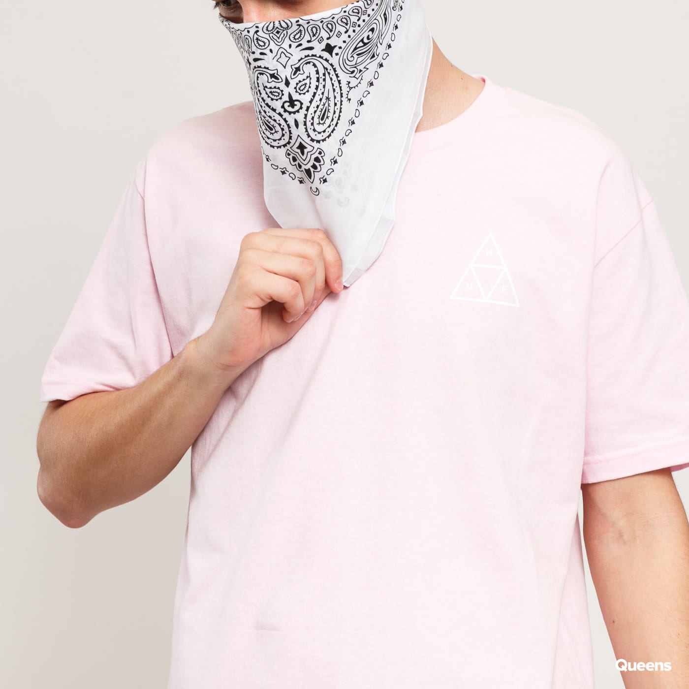 HUF Essentials TT Tee pink