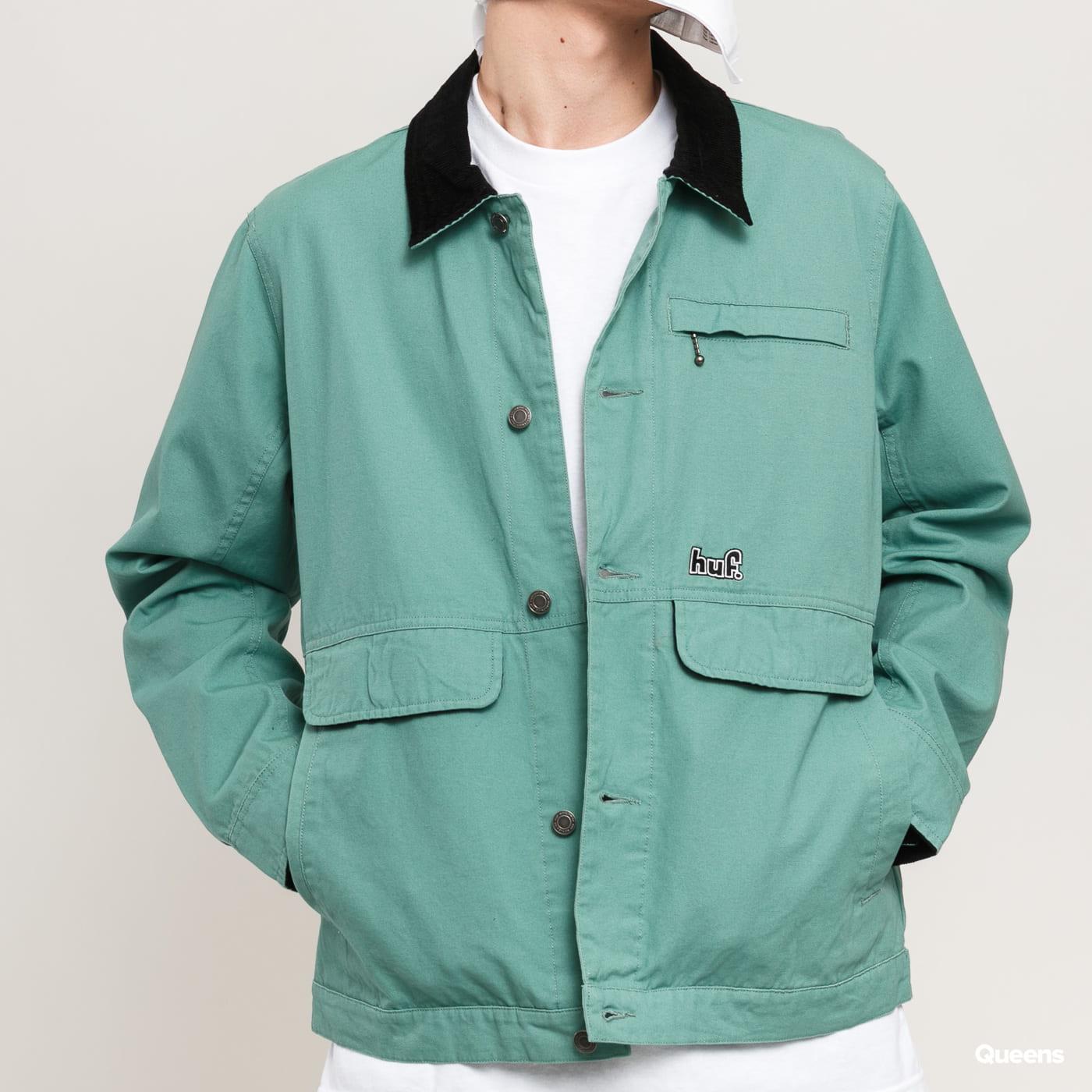 HUF Remington Jacket zelená
