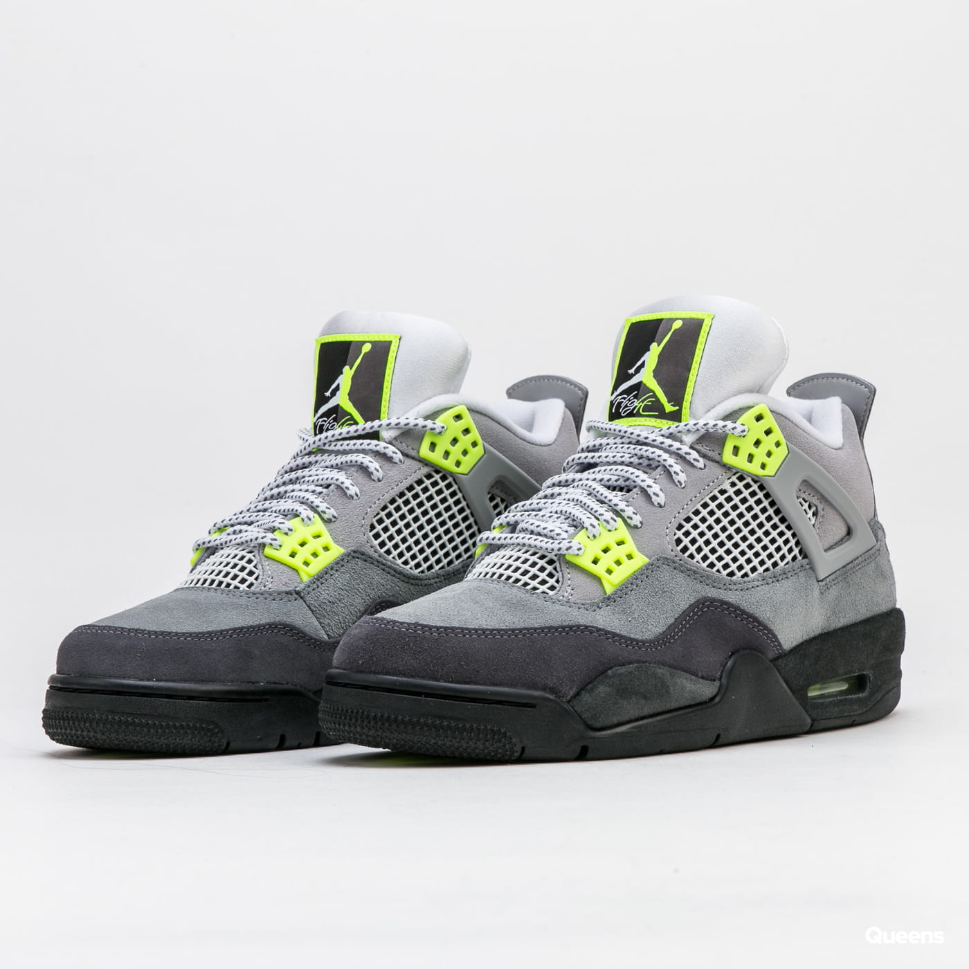 Jordan Air Jordan 4 Retro SE cool grey / volt - wolf grey