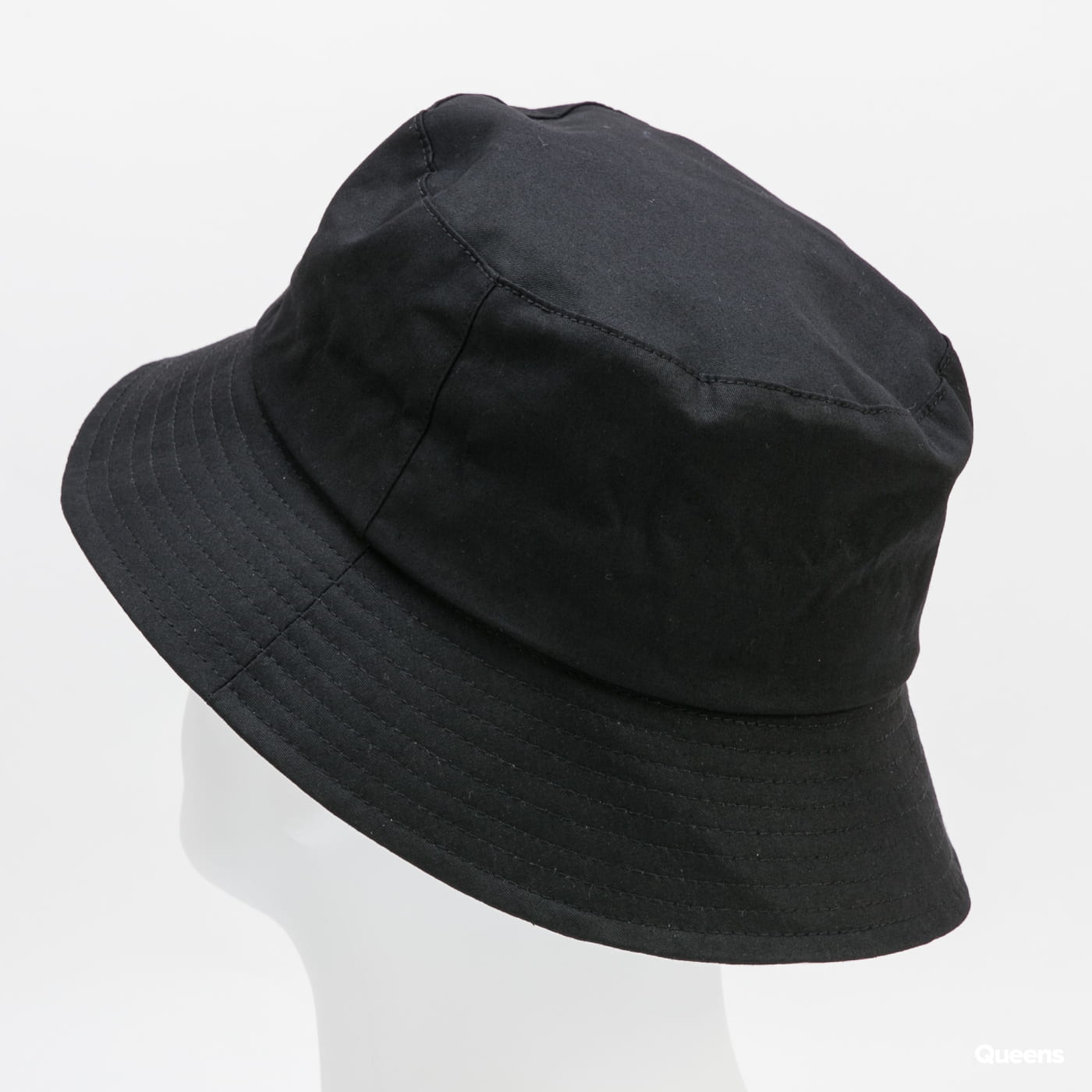 KANGOL Cotton Bucket černý / bílý